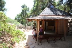 The authentic Japanese tea house